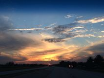 Beauty of a fall sky Royalty Free Stock Image