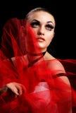 Beauty and False Eyelashes Royalty Free Stock Photo