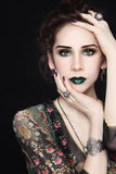 Beauty from fantasy Royalty Free Stock Photo