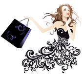 Beauty and fashion Stock Images