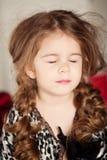 Beauty and fashion child girl Stock Photo