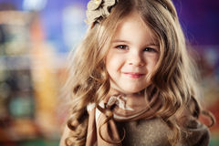 Beauty and fashion child girl Stock Photos