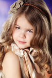 Beauty and fashion child girl Stock Photo
