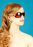 Beauty, fashion, glamor. Royalty Free Stock Photography