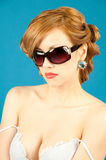 Beauty, fashion, glamor. Royalty Free Stock Image