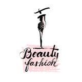 Beauty and fashion lady Royalty Free Stock Photo