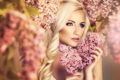 Beauty fashion model Stock Photo