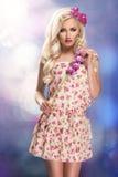 Beauty fashion model Stock Photography