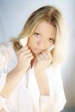 Beauty and fashion portrait Stock Image