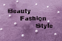 Beauty fashion and style concept Royalty Free Stock Image