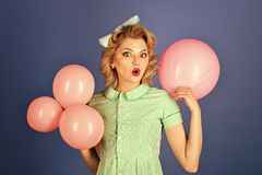 Beauty and fashion, vintage. royalty free stock photography