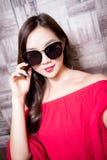 Beauty fashion woman royalty free stock photography