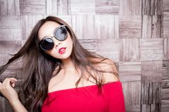 Beauty fashion woman royalty free stock photos