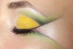 Beauty female eye Makeup Royalty Free Stock Photo