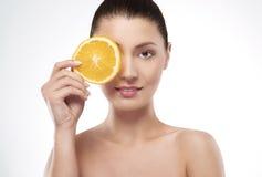 Beauty of femininity Stock Images