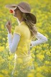 Beauty In A Field Stock Image