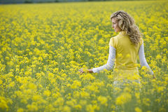 Beauty In A Field Stock Photography