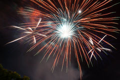 Beauty fire work for celebrate Royalty Free Stock Images