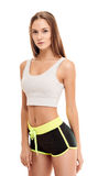 Beauty fitness woman portrait Stock Photo