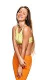 Beauty fitness woman portrait Royalty Free Stock Photos