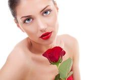 Beauty flower girl Royalty Free Stock Photo
