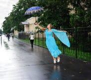 Beauty flying Stock Image