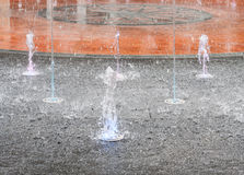Beauty fountain Stock Photos