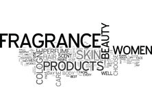Beauty And Fragrance Look Gorgeous Every Day Of The Week Word Cloud Royalty Free Stock Photo