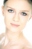 Beauty fresh close-up woman portrait Royalty Free Stock Photo