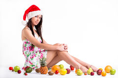 Beauty or fruit Royalty Free Stock Photo