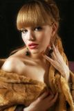 Beauty in fur Stock Photos
