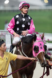 Beauty Generation wins the Violet Handicap in Hong Kong Stock Image