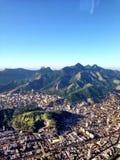 The beauty of the ghettos. Some of the large sprawling ghettos in Rio de Janeiro Stock Image