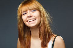 A beauty girl Royalty Free Stock Photography