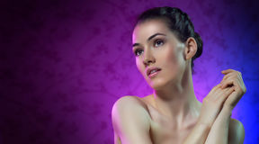 Beauty portrait Stock Photography