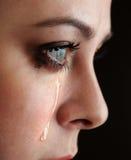 Beauty girl cry Royalty Free Stock Photo