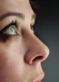 Beauty girl cry Royalty Free Stock Photos