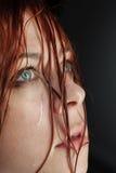 Beauty girl cry Stock Photos