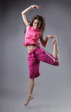 Beauty girl dance Stock Images