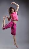 Beauty girl dance Royalty Free Stock Photo