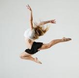 Beauty girl dance Stock Image