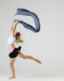 Beauty girl dance Royalty Free Stock Image