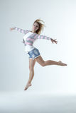 Girl dance Royalty Free Stock Images