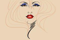 Beauty girl Stock Image