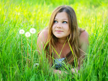 Beauty girl Stock Photography