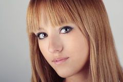 Beauty girl portrait Stock Photo