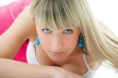 Beauty girl portrait Stock Photos
