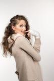 Beauty girl portrait Stock Photography