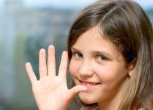 Beauty girl smile Stock Image