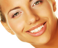Beauty giving you a big smile Royalty Free Stock Photography